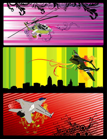 aircraft vector illustration Vector