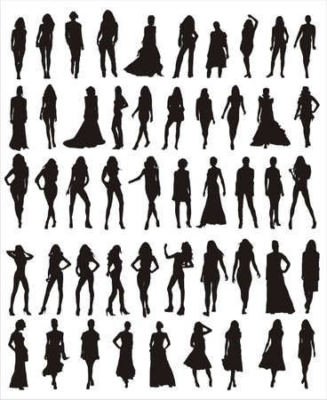 runway: models vector shapes