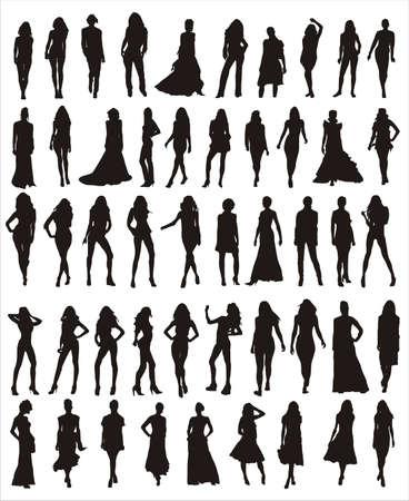 models vector shapes