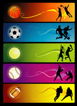 sport vector composition Stock Vector - 3507828