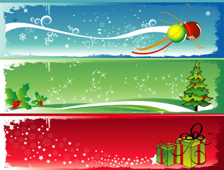 christmas vector illustration Vectores