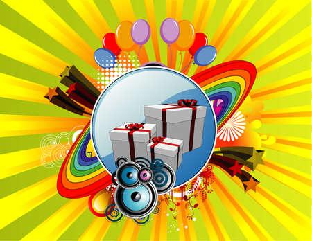 celebration vector illustration Stock Vector - 3686010