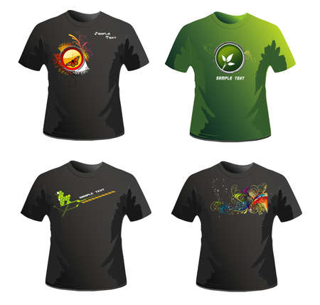 shirts vector design Vector