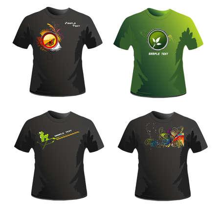 urban youth: shirts vector design