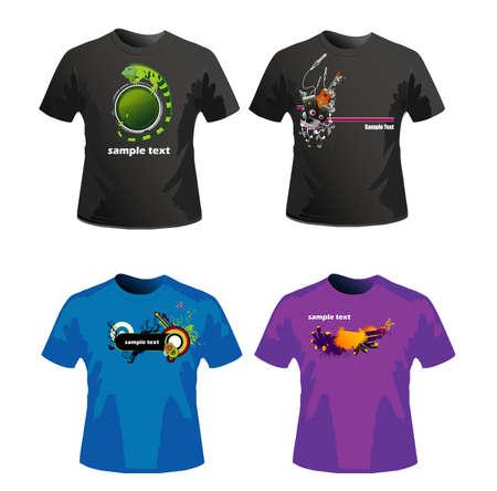 shirts vector design Stock Vector - 3878124