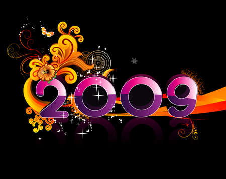 new year vector illustration Vector
