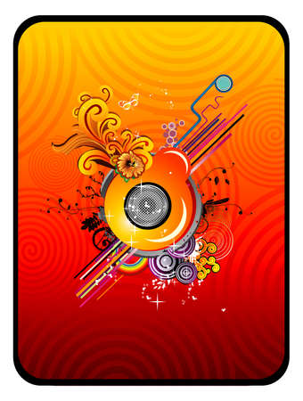 Abstract glossy vector Vector