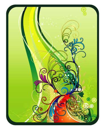 floral vector illustration Vector