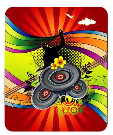 music vector illustration Vector