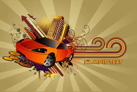 Abstract CAR vector Vector