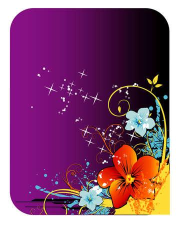 flowers vector illustration Illusztráció