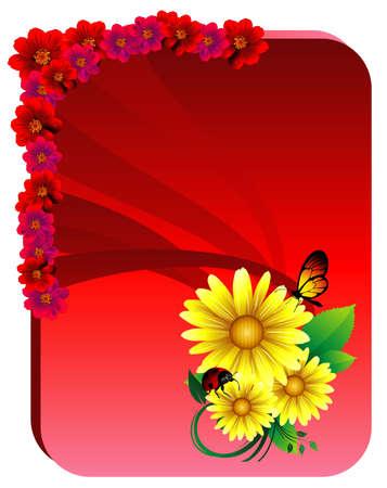 sunflower vector illustration Vector