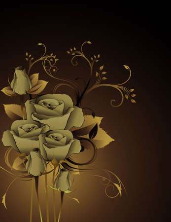 roses vector illustration Vector