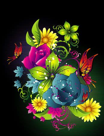flower vector illustration Vector