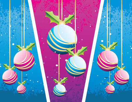 shine balls vector illustration