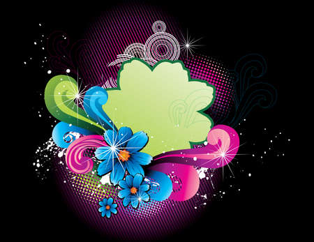 flower vector illustration Stock Vector - 6198624
