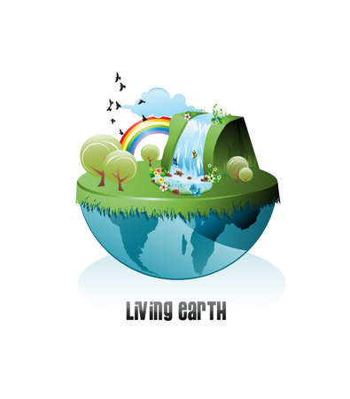 live earth Stock Vector - 6702825