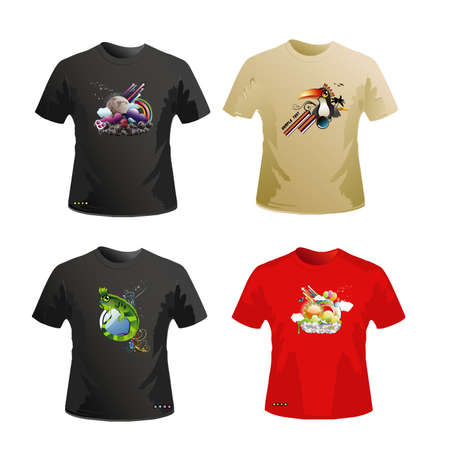 shirts  design Illustration
