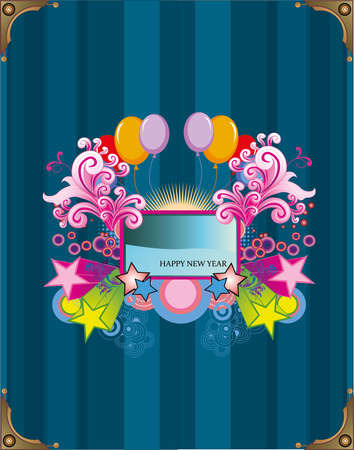 abstract banner illustration Vector