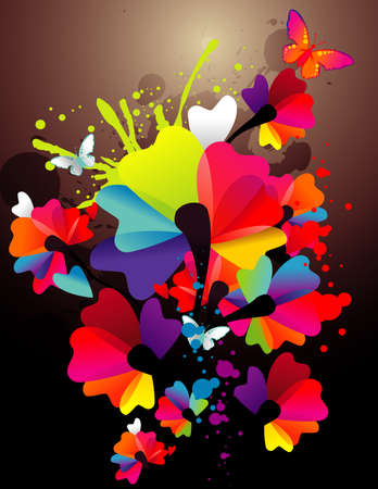 ink color paint vector Stock Vector - 11785463