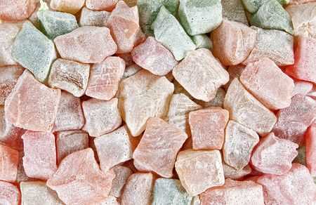 Sweet and tasty turkish delight photo
