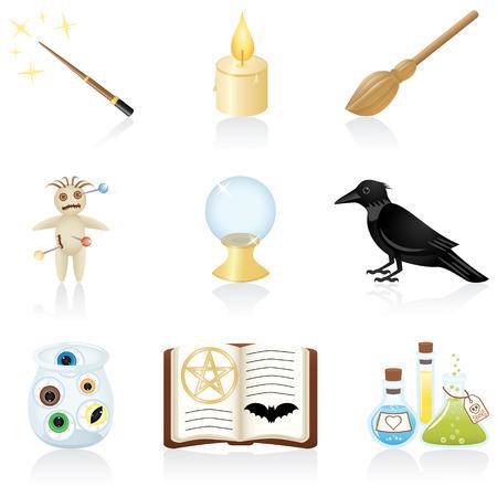 pocion: Set con equipos para la magia