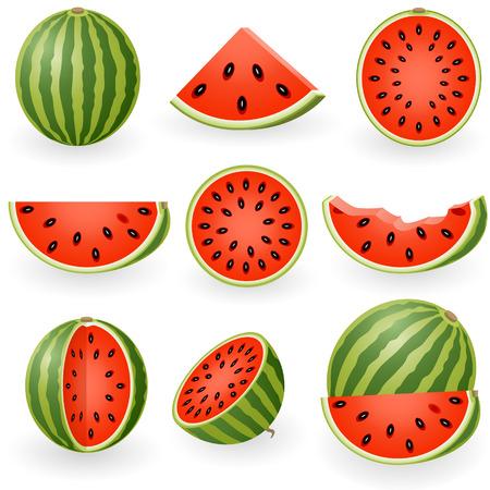 Vector afbeelding van watermelon