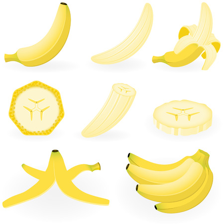 Vector illustration of banana