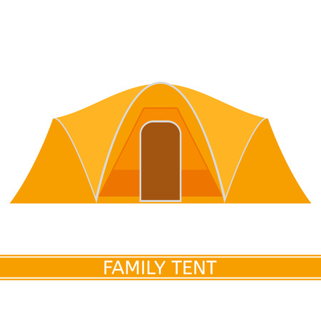 hiking: Camping Tent Icon