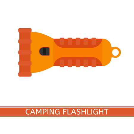 led lighting: Flashlight icon vector
