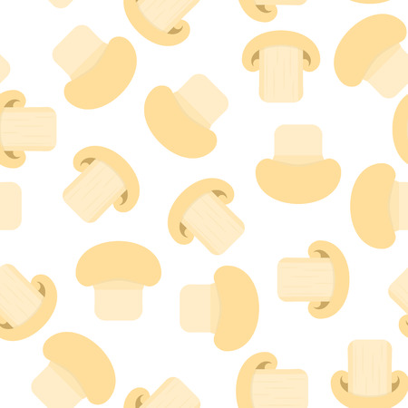 A Vector illustration of champignon isolated on white background.