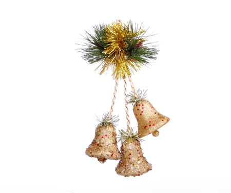 Christmas decorations,isolated Stock Photo - 8353352