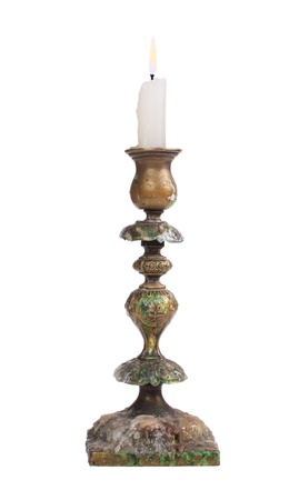candlestick,isolated