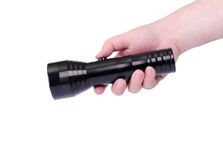 flashlight,isolated