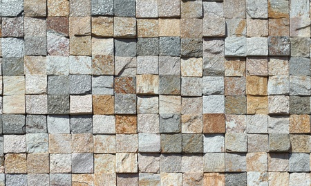 The sample of the Modern laying from a natural color stone Stock Photo