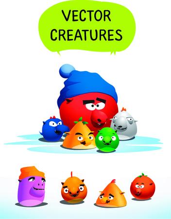 Vector creatures