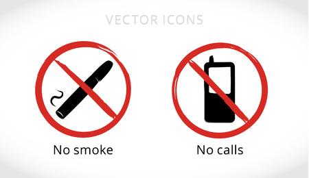 prohibiting: Prohibiting vector icons
