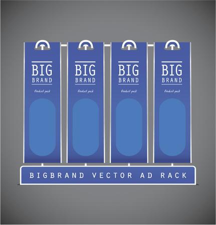 rack: Vector table pack rack