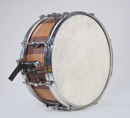 snare drum: Snare drum isolated Stock Photo