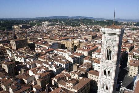 Giottos Campanile and roofs