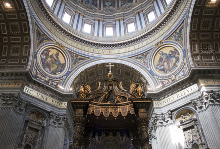 The top of the Vatican