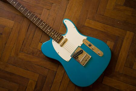 electric Guitar telecaster Affinity Lake Placid Blue