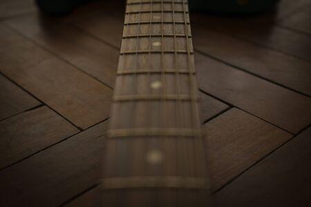 mast of electric Guitar telecaster Affinity Lake Placid Blue
