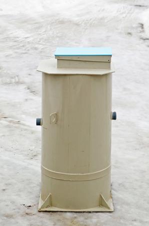 European autonomous septic system -  300L tank model