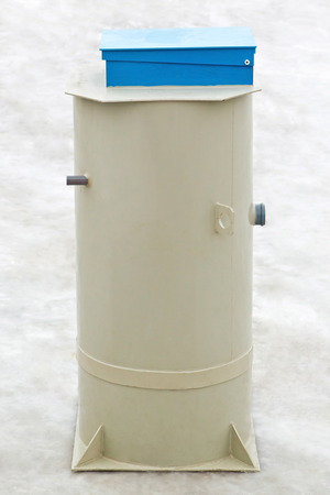 European autonomous septic system -  230L tank model Stock Photo