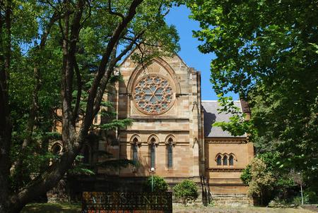 All Saints Anglican Church Woollahra exterior, Sydney, Australia
