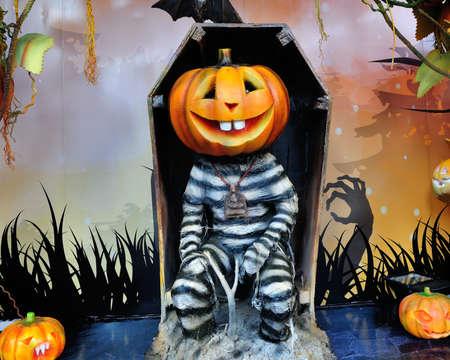 prisoner: Pumpkin prisoner for halloween