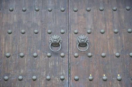 Lion doors knocker