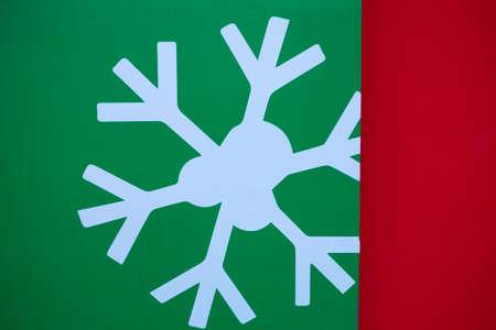 Snowflake signage Stock Photo