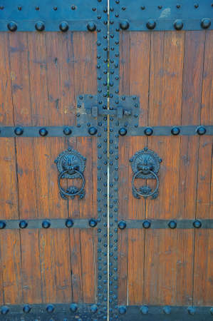 Chinese old doors